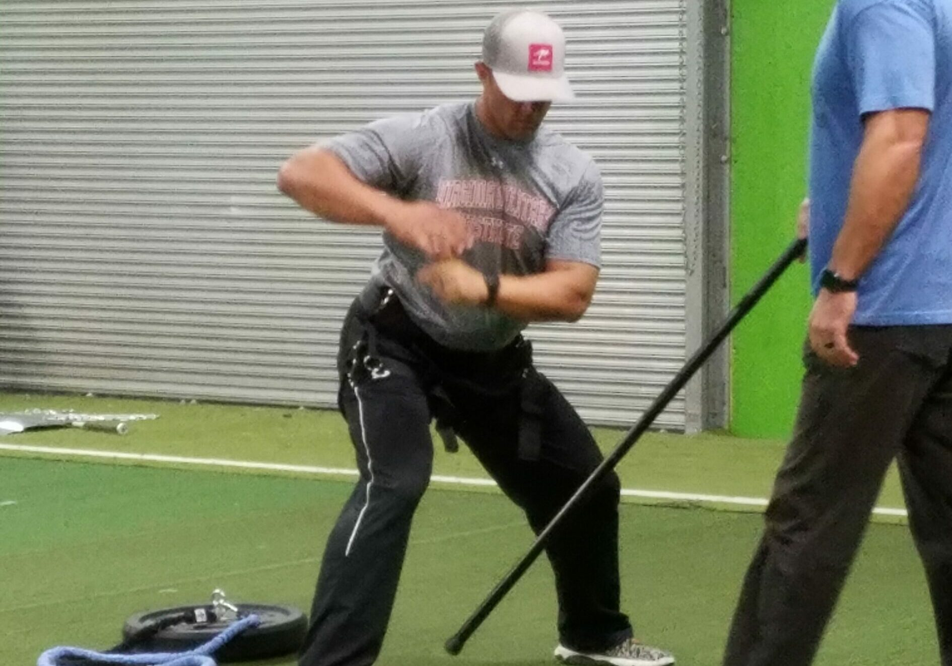 Former Pro Player and Current Player Agent, Hunter Bledsoe Instructing